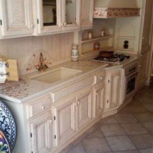 cucina in muratura modello barcellona dettaglio 1