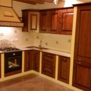 cucina in muratura modello castemola