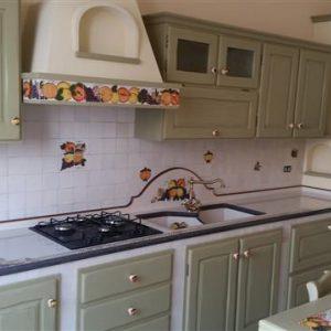 cucina in muratura ginostra