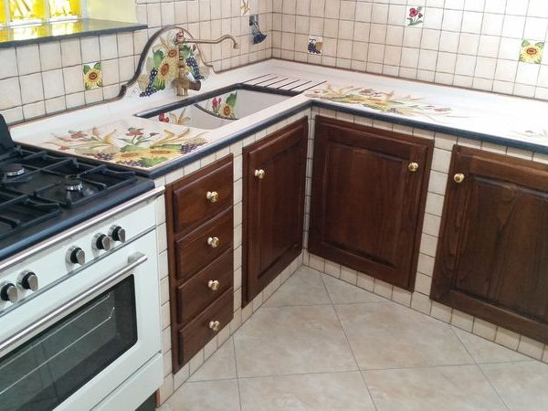 Cucina in muratura Portopalo | Cu.Ce.Mur - Cucine in muratura ...