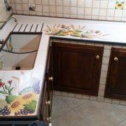 cucina in muratura portopalo