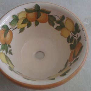 Lavello in terracotta Frutta
