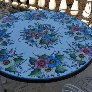 tavolo in pietra lavica