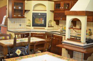 Cucine in muratura rustiche Caltagirone